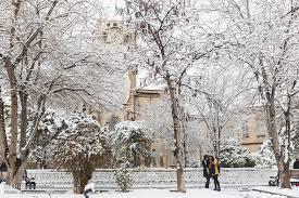 یخبندان شدید و بارش برف و باران در راه مازندران