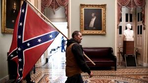 ماجرای برافراشتن یک پرچم غریب در کنگره