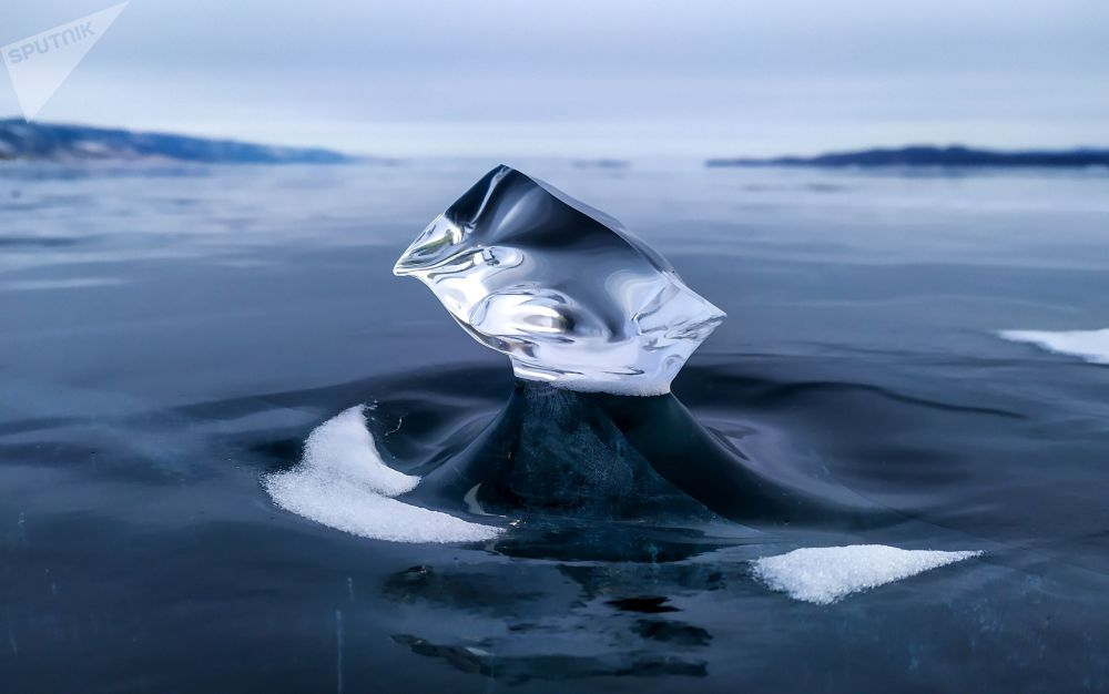 یخ های سبک دریاچه بایکال