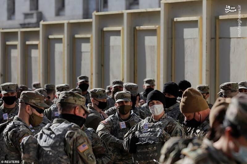 عکس/ ورود بایدن به واشنگتن تحت تدابیر شدید امنیتی
