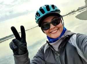 چهرهها/ تشویق و انگیزه آناهیتا همتی به زنان دوچرخه سوار
