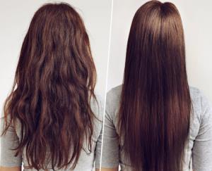 روشهای طبیعی و خانگی صاف کردن مو