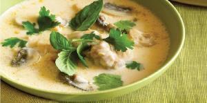 طرز تهیه سوپ تایلندی مرغ و نارگیل؛ یک پیشغذای خوشمزه