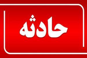 واژگونی مینی بوس در بیدستان قزوین با ۱۰ مصدوم