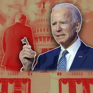 کلید کاخ سفید در دست بایدن