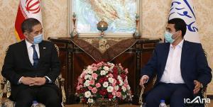 عضو هیئت رئیسه مجلس با سفیر جدید ژاپن دیدار کرد