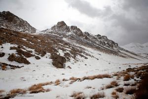 ارتفاعات خوزستان برفی میشود