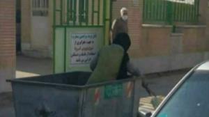 ماجرای تصویر منتشر شده زن زبالهگرد در فضای مجازی چیست؟