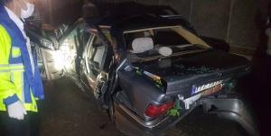 تصادف شدید ۵ خودرو در بزرگراه امام علی(ع)