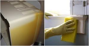 روش رفع زرد شدن لوازم سفید