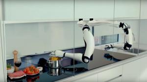 آشپزخانه تمام رباتیک به جای صاحبخانه آشپزی میکند