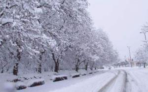 برف و یخبندان در آستانه ورود به استان قزوین