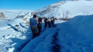 کولاک راه ارتباطی ۴۰ روستای آذربایجانشرقی را بست