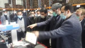 عکس/ تداوم بازدیدهای رئیسکل دادگستری اردبیل از شهرکهای صنعتی