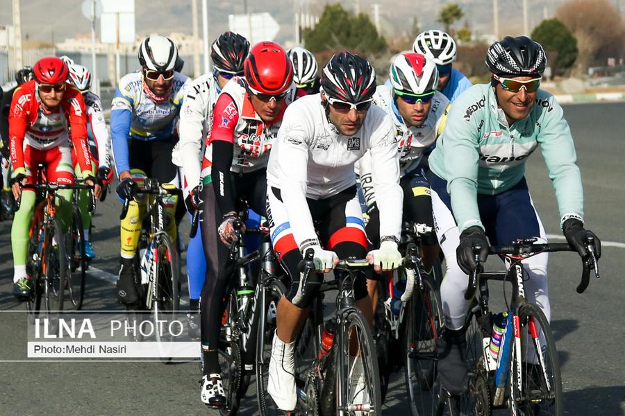 تمرینات آماده سازی تیم ملی دوچرخه سواری برای حضور در مسابقات قهرمانی آسیا