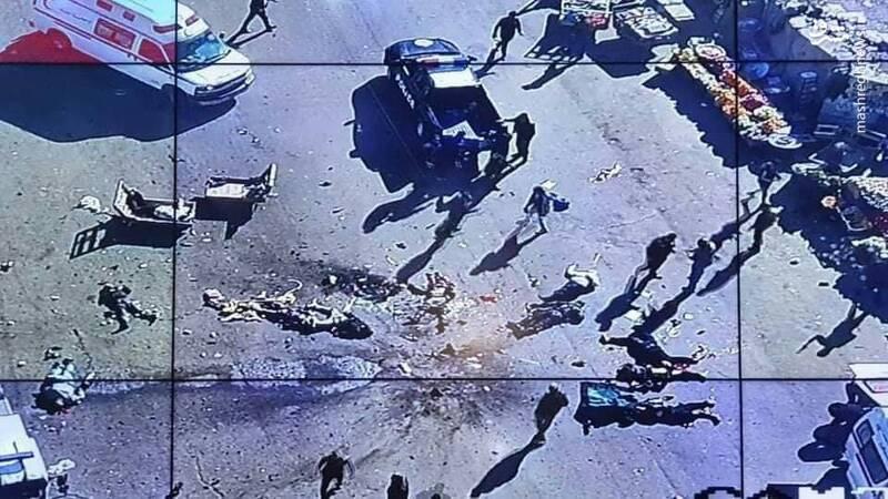 سر جدا شده عامل انتحاری انفجار بغداد (18+)