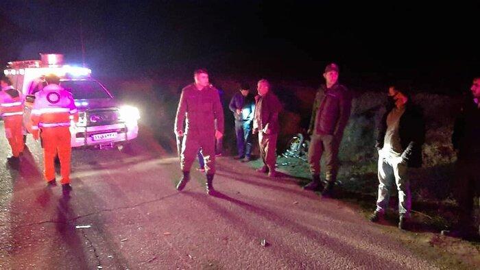 واژگونی مینیبوس در جاده گرمی-رضی ۱۳ مصدوم برجای گذاشت