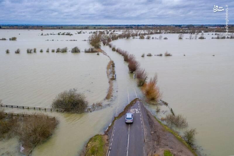 انگلیس زیر آب رفت