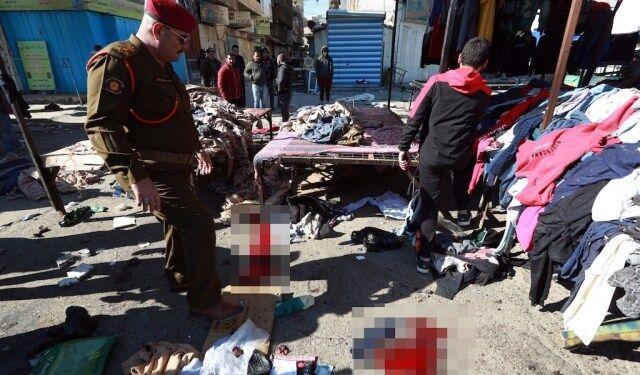قربانیان انفجارهای انتحاری بغداد به ۳۲ نفر افزایش یافت