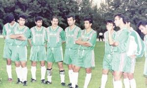 بازیکنان تیم ملی قبل از بازی شوم!