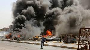 فیلمی از انفجار انتحاری در بغداد