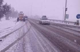 مسدود شدن تمامی راههای روستایی هشترود در اثر بارش سنگین برف