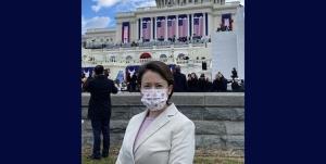 نماینده تایوان پس از چهار دهه در مراسم تحلیف رئیس جمهور آمریکا شرکت کرد