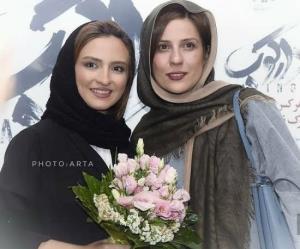 چهره ها/ تبریک گلاره عباسی به سارا بهرامی