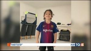 گزارش تلویزیون ایتالیا از آرات حسینی