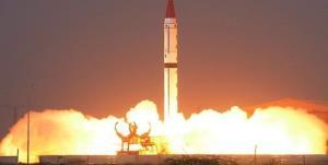 پاکستان یک موشک بالستیک جدید را آزمایش و پرتاب کرد