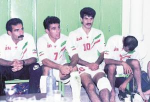منصوریان و دایی؛ 25 سال قبل