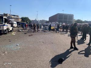 نگرانی گسترده عراقیها از انفجارهای امروز بغداد