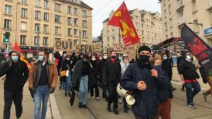 تظاهرات صدها دانشجو در سراسر فرانسه