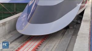 اولین قطار شناور جهان با سرعت ۶۲۰ کیلومتر بر ساعت!