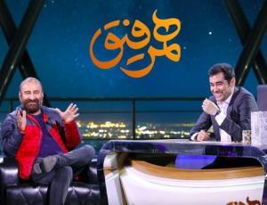 مهران احمدی: از بچگی عاشق شهاب حسینی بودم