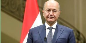 پیام رئیس جمهور عراق به رئیس جمهور جدید آمریکا