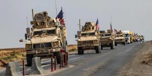 هدف قرار گرفتن کاروان نظامی آمریکا در جنوب عراق