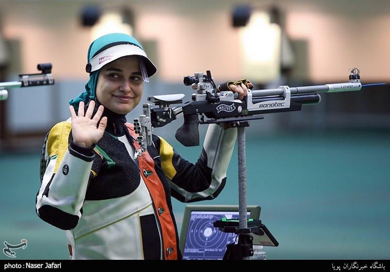 نماینده اعزامی ایران به المپیک توکیو در تفنگ بادی بانوان