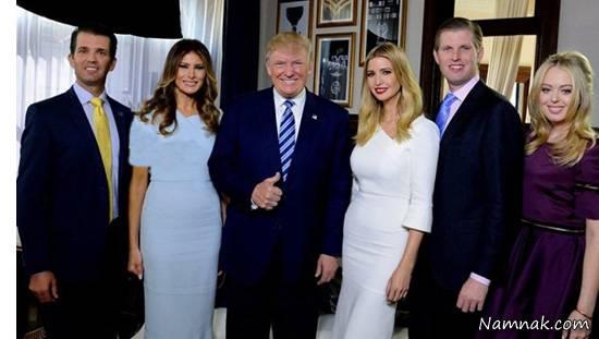 تقاضای ترامپ برای حفاظت ۶ ماهه رایگان از خانوادهاش