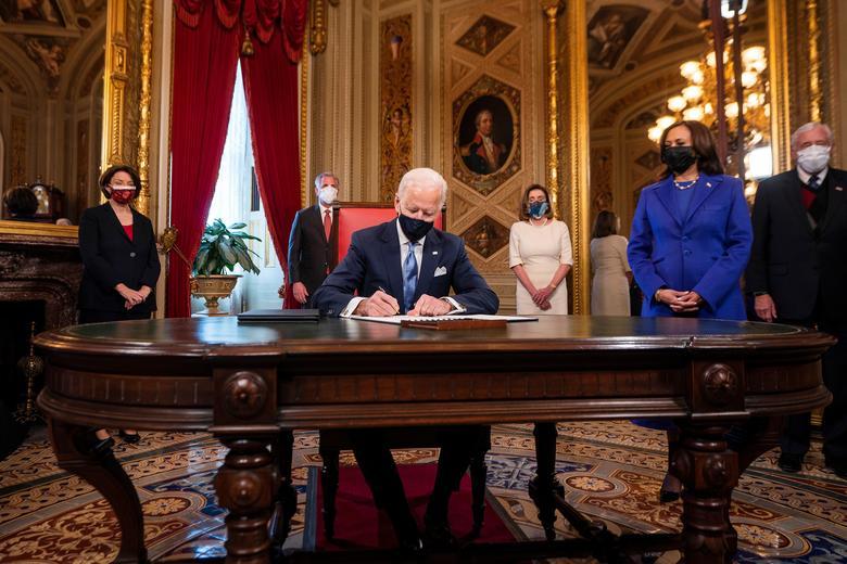 عکس/ جو بایدن رئیس جمهور جدید آمریکا