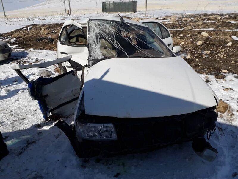 تصادف سواری و واژگونی تریلی در بیجار ۳ کشته برجای گذاشت