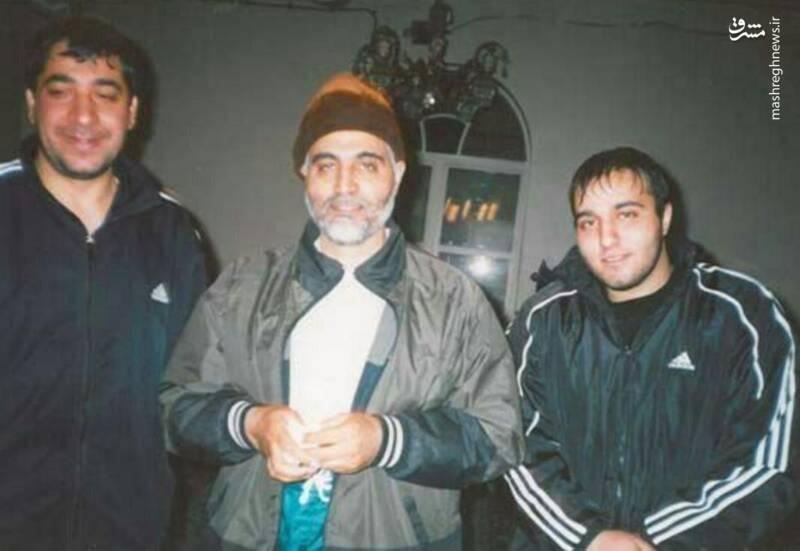 تصویر دیده نشده از شهید سلیمانی و شهید پورجعفری
