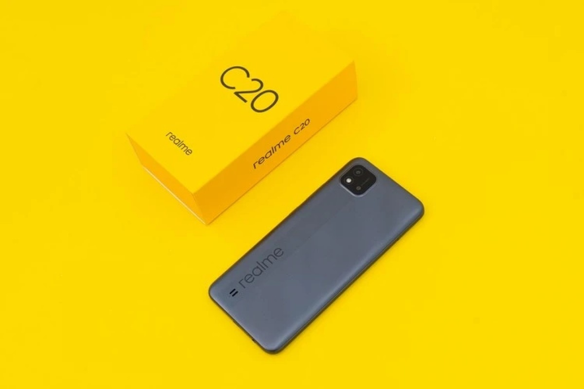 گوشی ارزان Realme C20 رسما معرفی شد