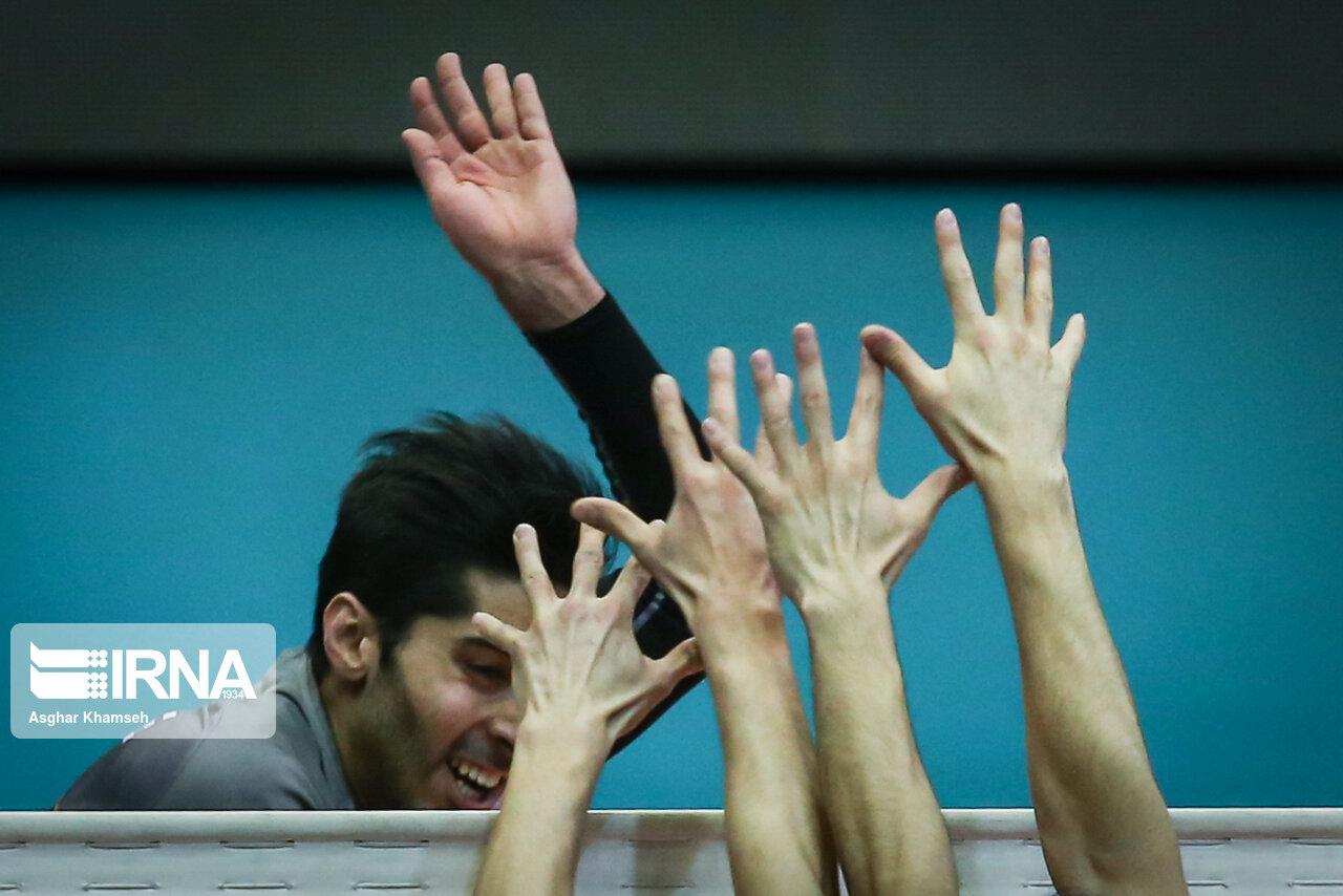 تصاویری خاص از رقابتهای لیگ برتر والیبال