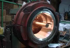 ساخت یاتاقان فوق سنگین به روش سانتریفیوژ