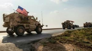 هدف گرفته شدن کاروان ارتش آمریکا در ناصریه عراق
