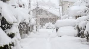 بارش ۸۰ سانتی برف در مازندران