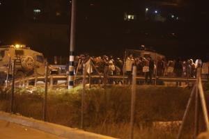 شب وحشت در کرانه باختری فلسطین