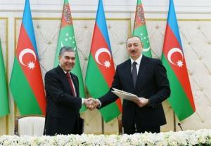 توافق آذربایجان و ترکمنستان درباره میدان نفتی دریای خزر