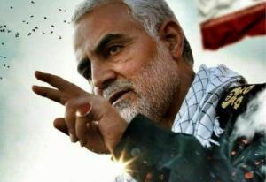 لحظاتی دیده نشده از حضور شهید سلیمانی در بین رزمندگان جبهه مقاومت